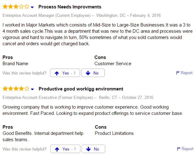 Comcast Enterprise Account Executive Job Reviews Listens Solutions Guide